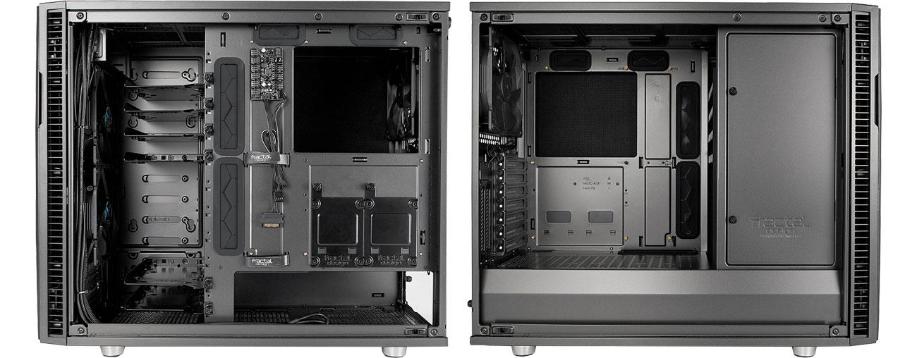 Fractal Design Define R6C Gunmetal Wnętrze obudowy