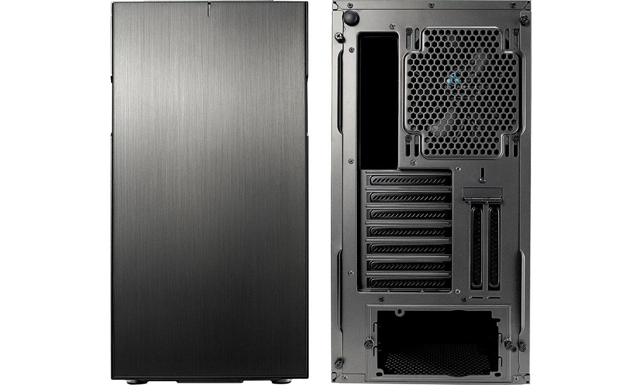 Fractal Design Define R6C Gunmetal Przód i tył