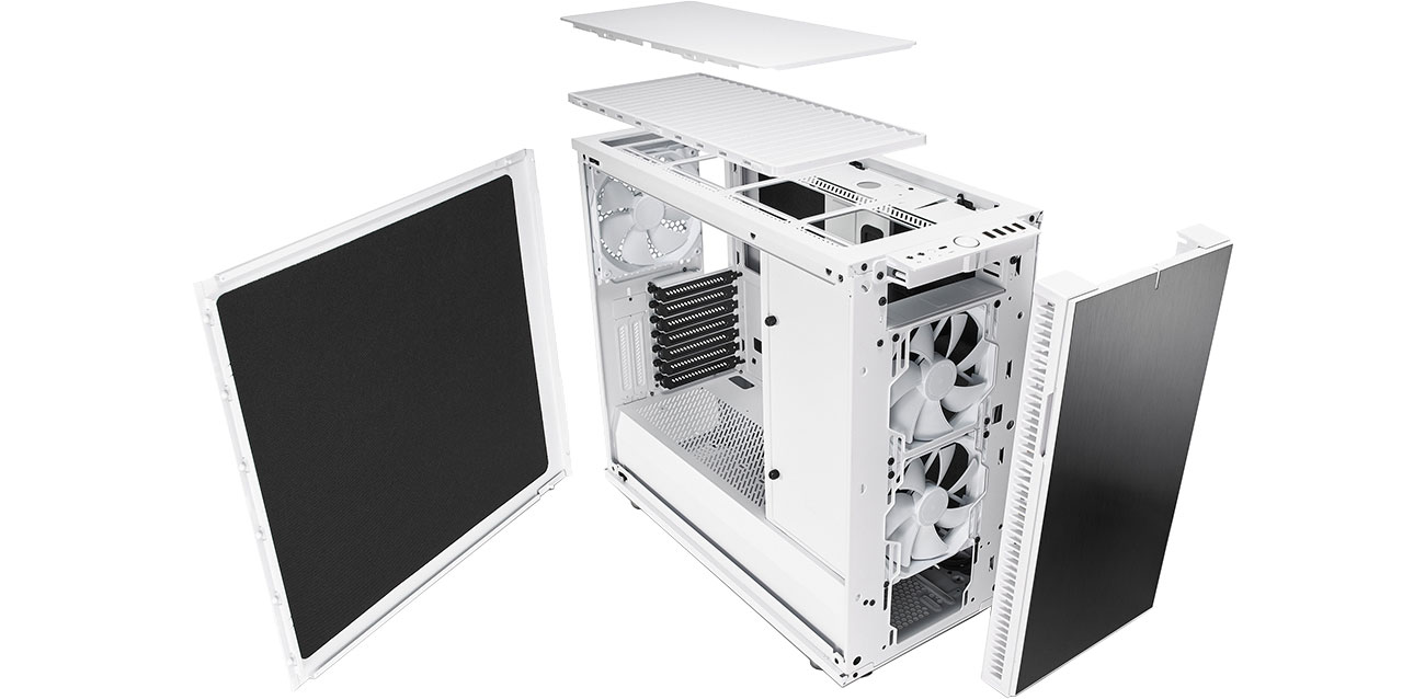 Fractal Design Define R6C Blackout Przód i tył