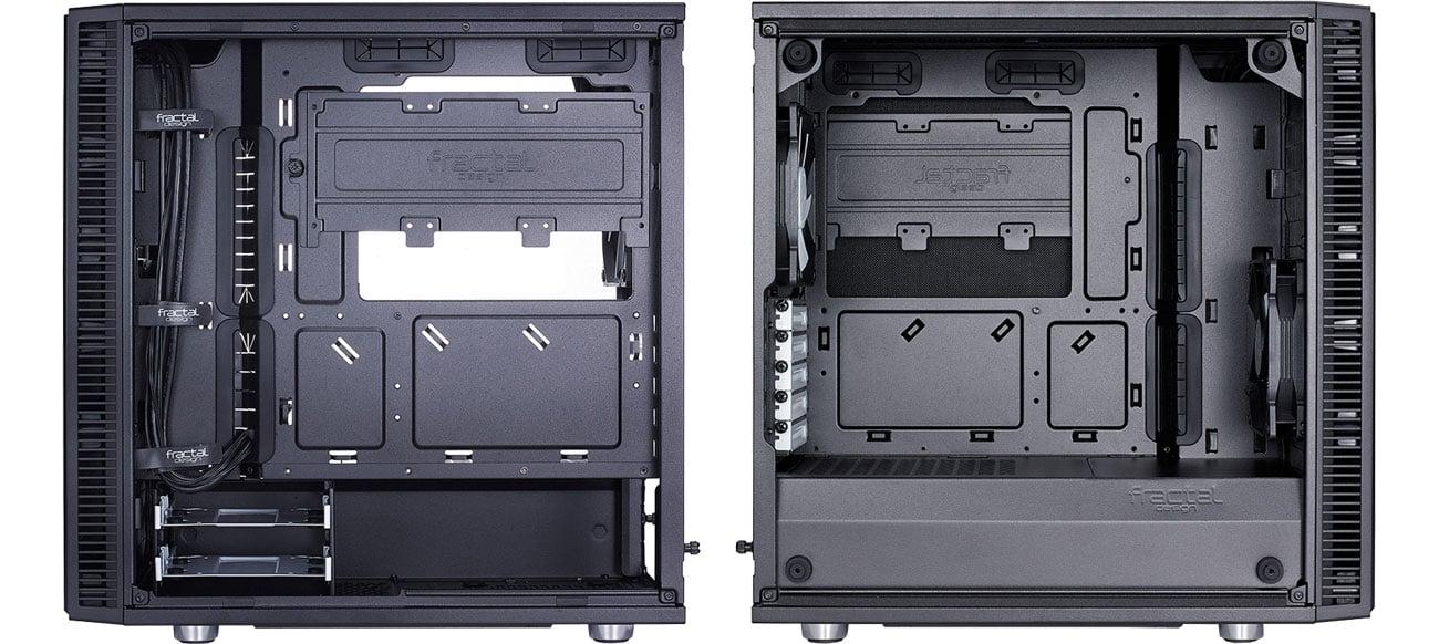Fractal Design Define Mini C TG Wnętrze