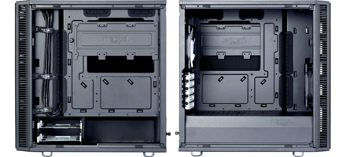 Fractal Design Define Mini C wnętrze