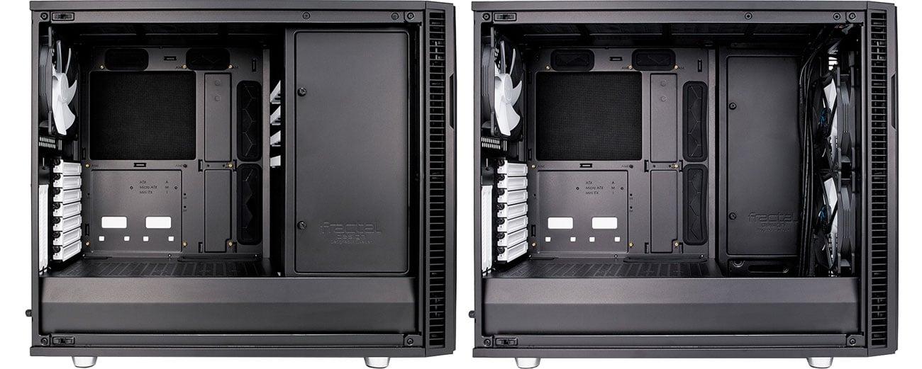 Fractal Design Define R6 TG Modularne wnętrze