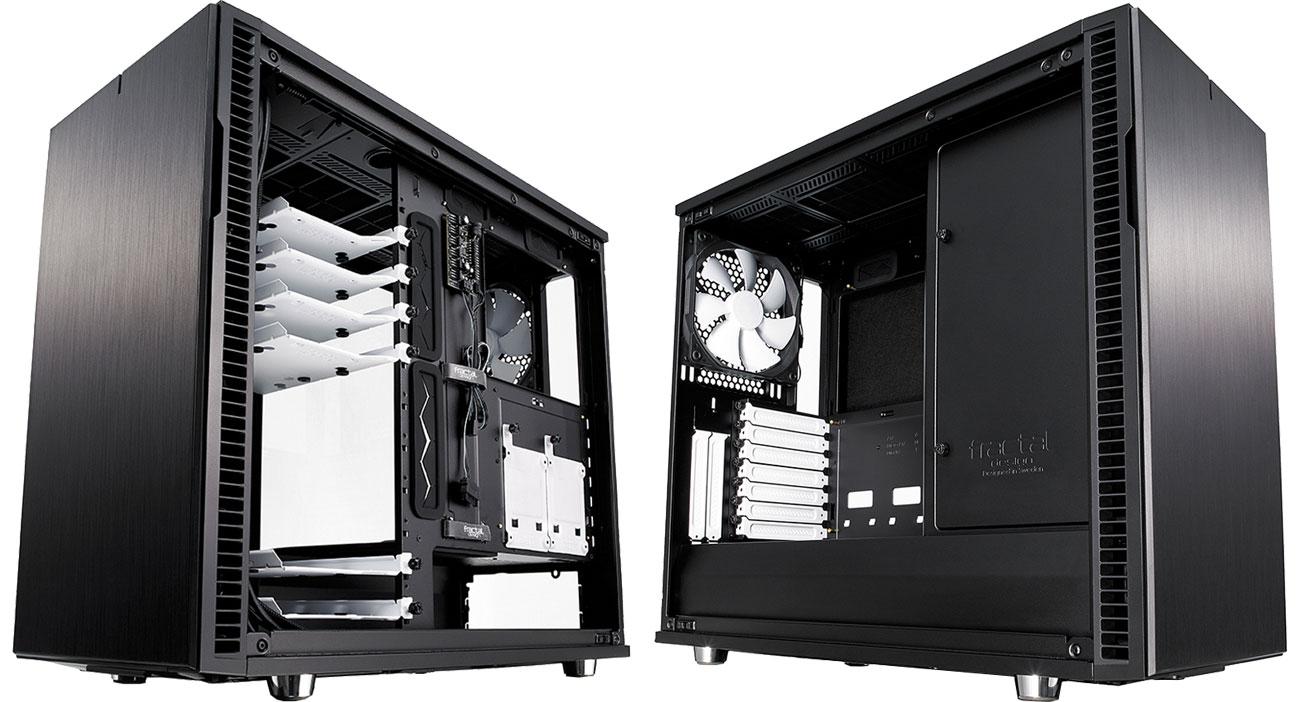 Fractal Design Define R6 TG Optymalne rozmieszczenie podzespołów