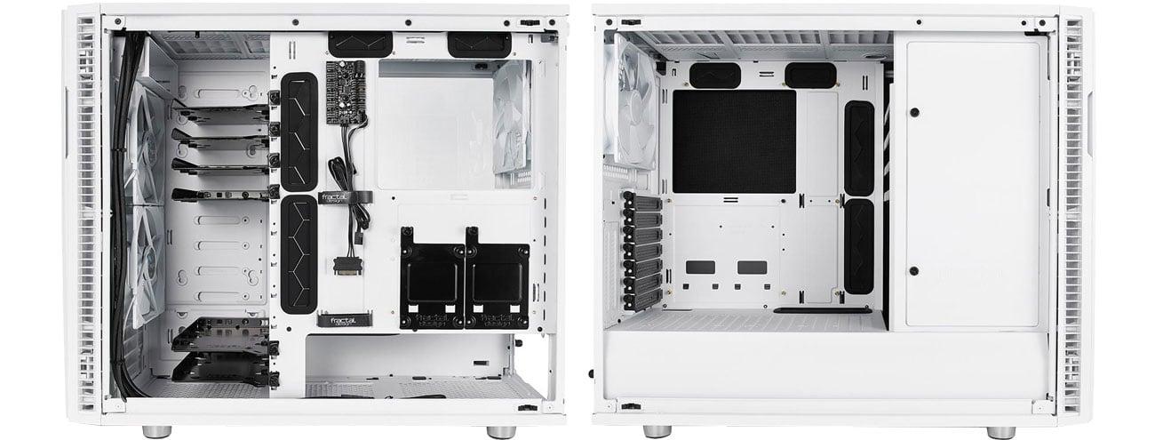 Fractal Design Define R6 White TG - Wnętrze