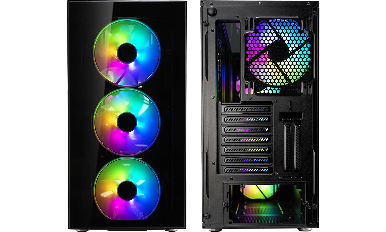 Fractal Design Define S2 Vision RGB Przód, tył