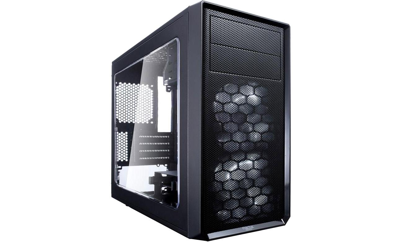 Obudowa Fractal Design Focus G Mini czarna z oknem FD-CA-FOCUS-MINI-BK-W