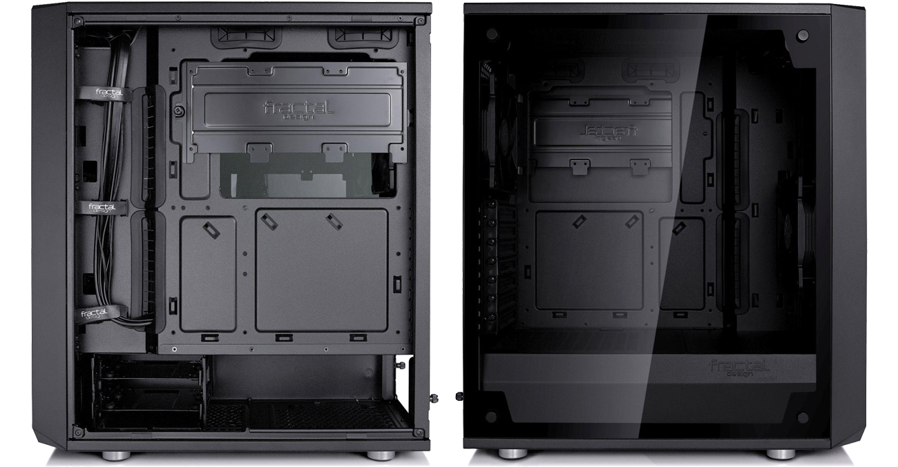Fractal Design Define C TG Windowed wnętrze