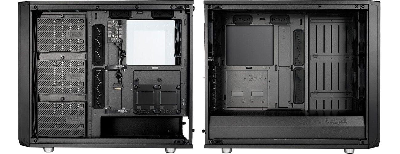 Fractal Design Meshify S2 Black TG Wnętrze