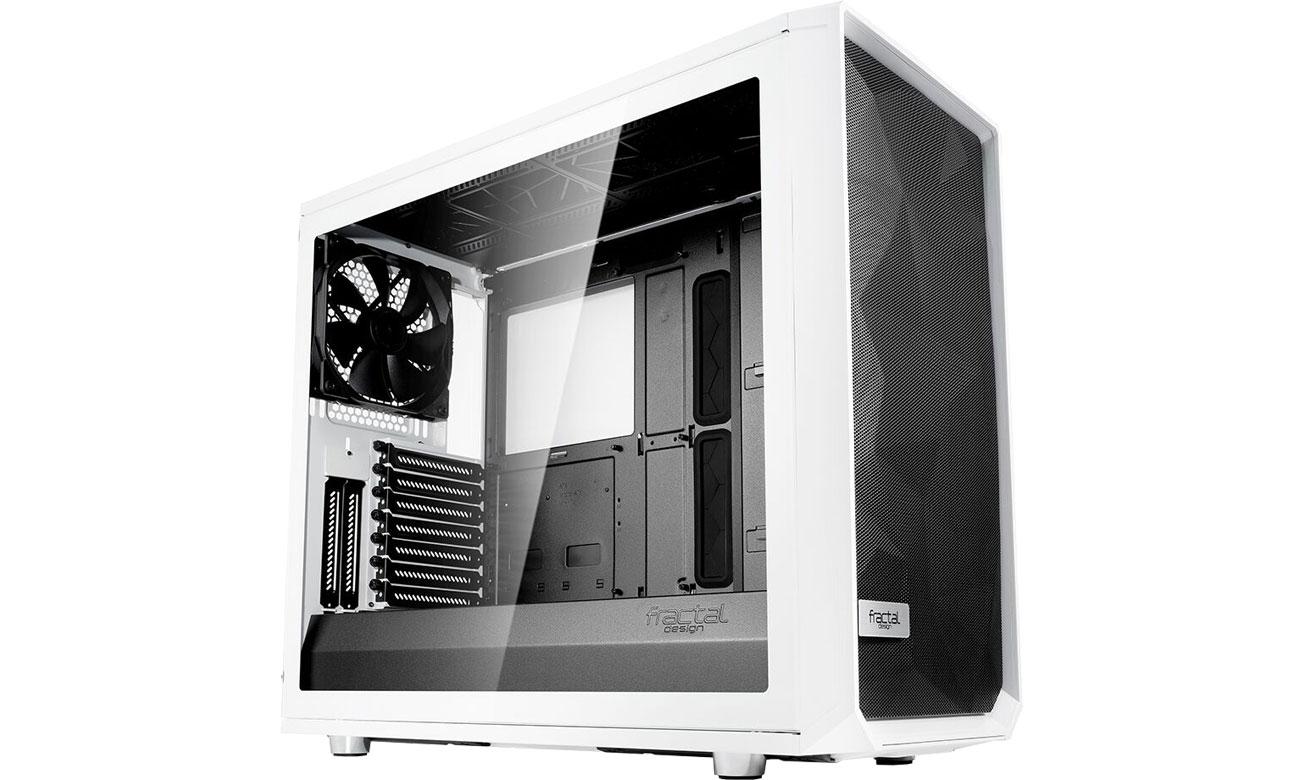 Obudowa do komputera Fractal Design Meshify S2 Biała Tempered Glass FD-CA-MESH-S2-WT-TGC