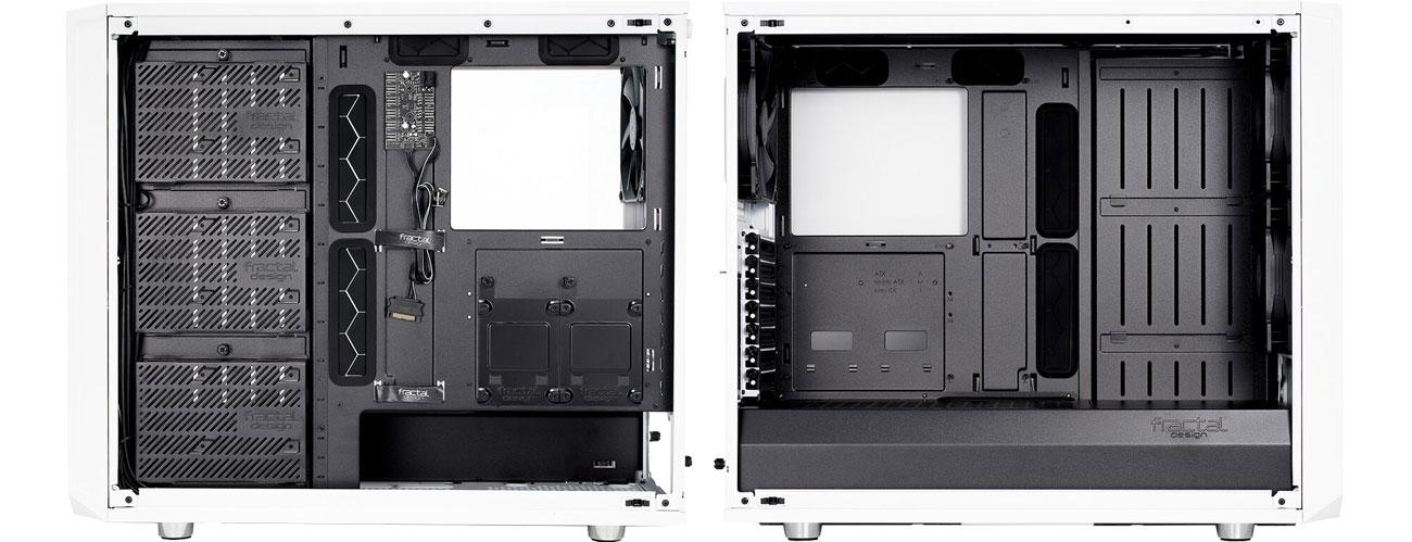 Fractal Design Meshify S2 White TG Wnętrze