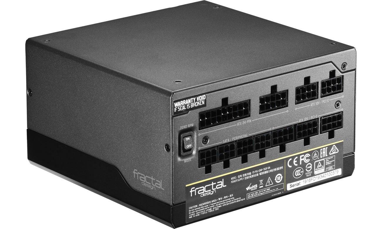 Fractal Design Ion+ 760W - Modularne okablowanie