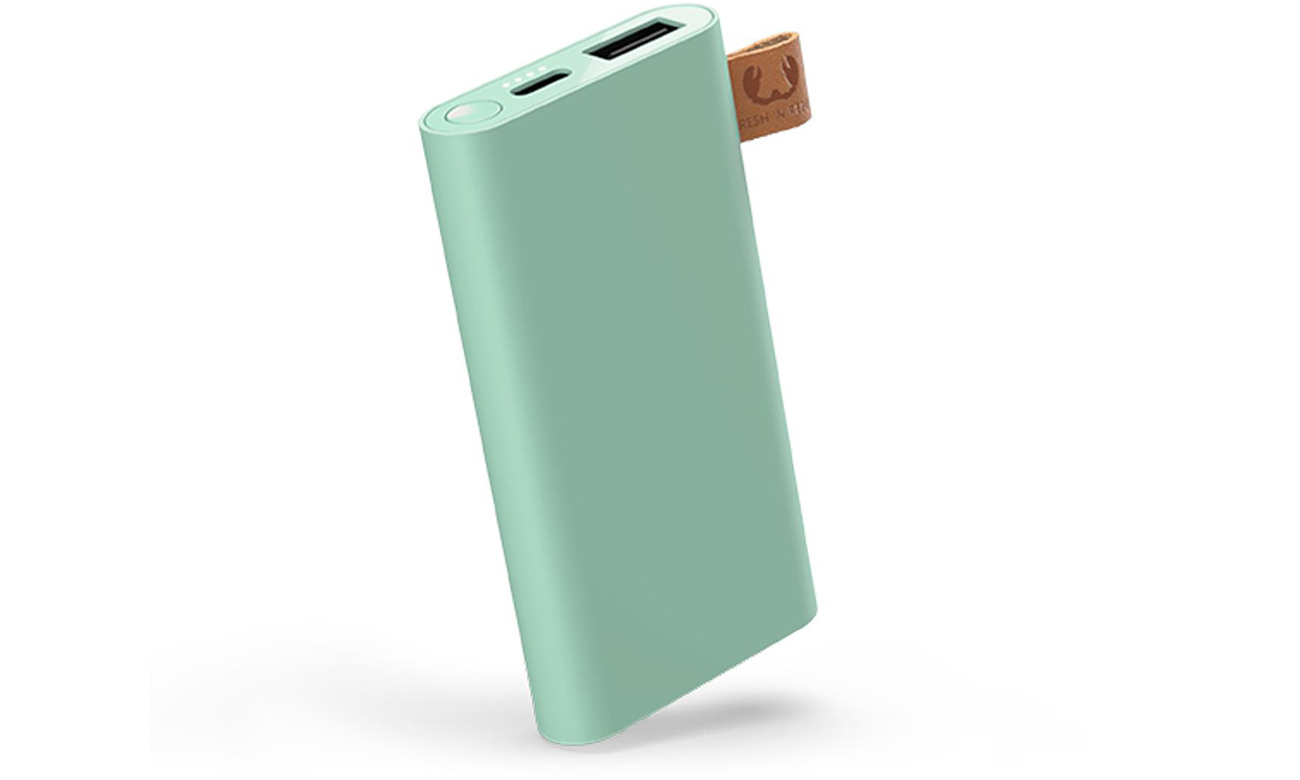 Power Bank Fresh 'n Rebel 6000 mAh Misty Mint