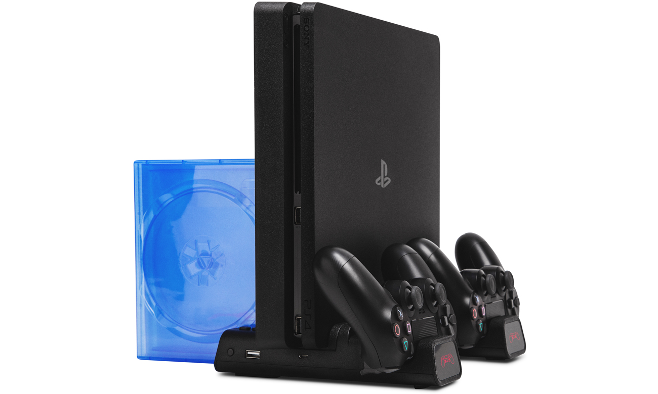 Wielofunkcyjna podstawka FroggieX X-Cooling Charging Stand&Storage do PS4