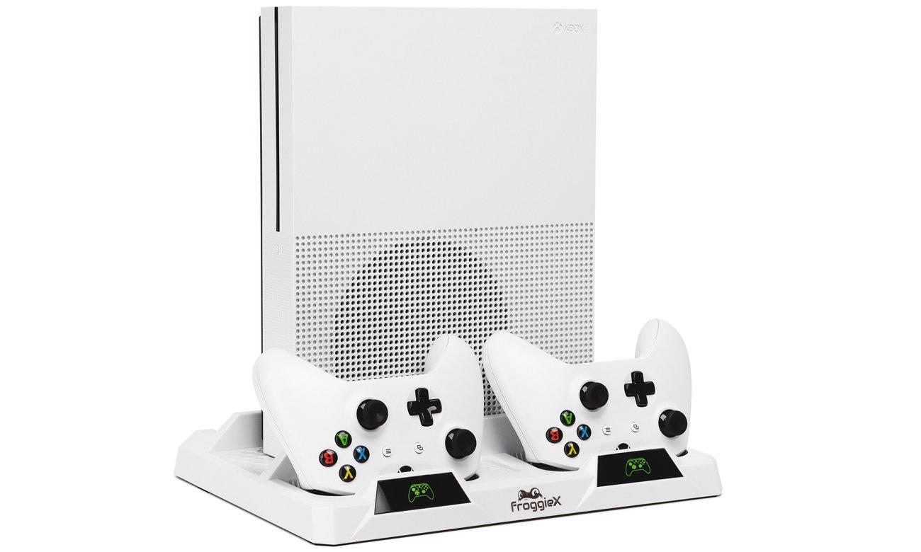 Wielofunkcyjna podstawka FroggieX X-Cooling Charging Stand&Storage do Xbox