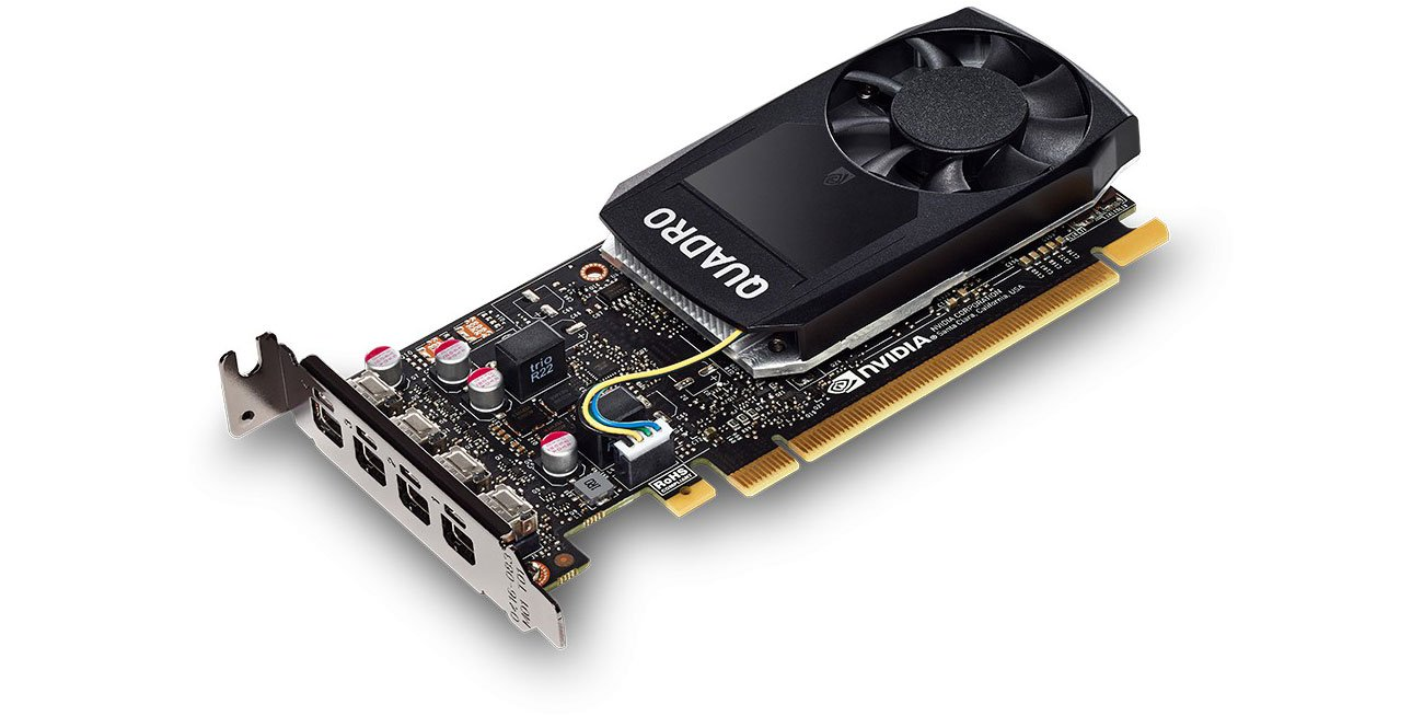 Karta graficzna NVIDIA Fujitsu NVIDIA Quadro P1000 4GB S26361-F2222-L104