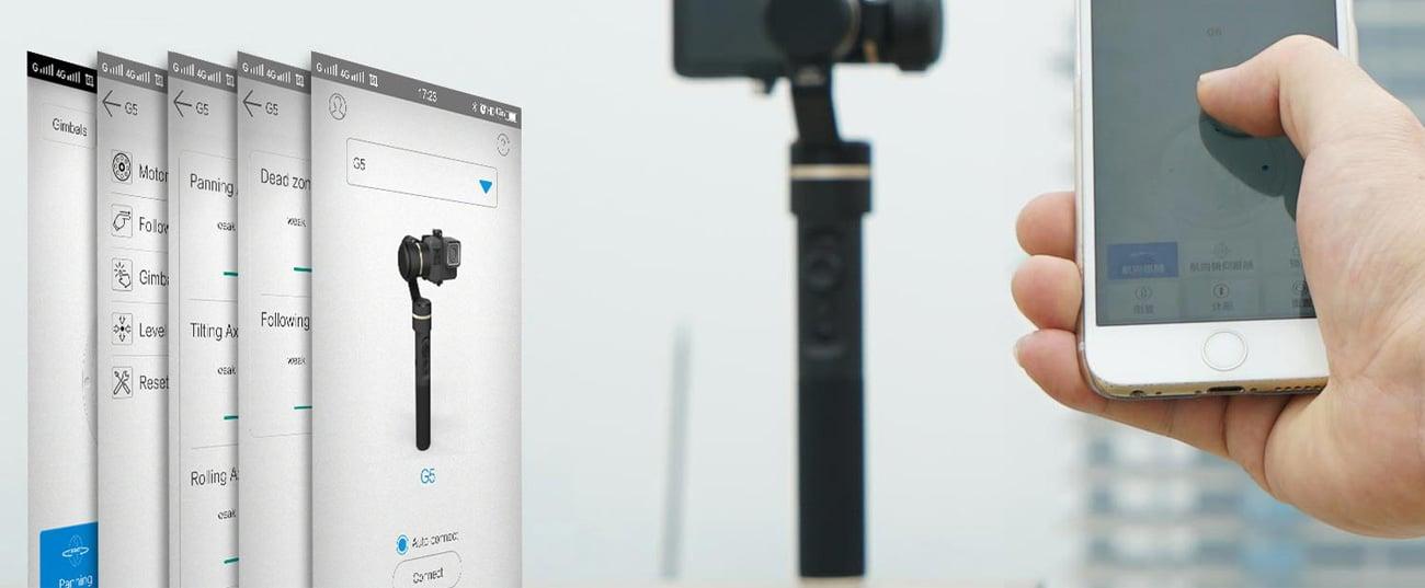 FeiyuTech G5 Aplikacja