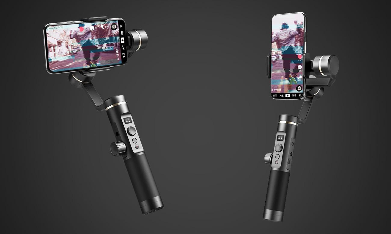Feiyu-Tech SPG 2 Autopanorama i tryb portretowy