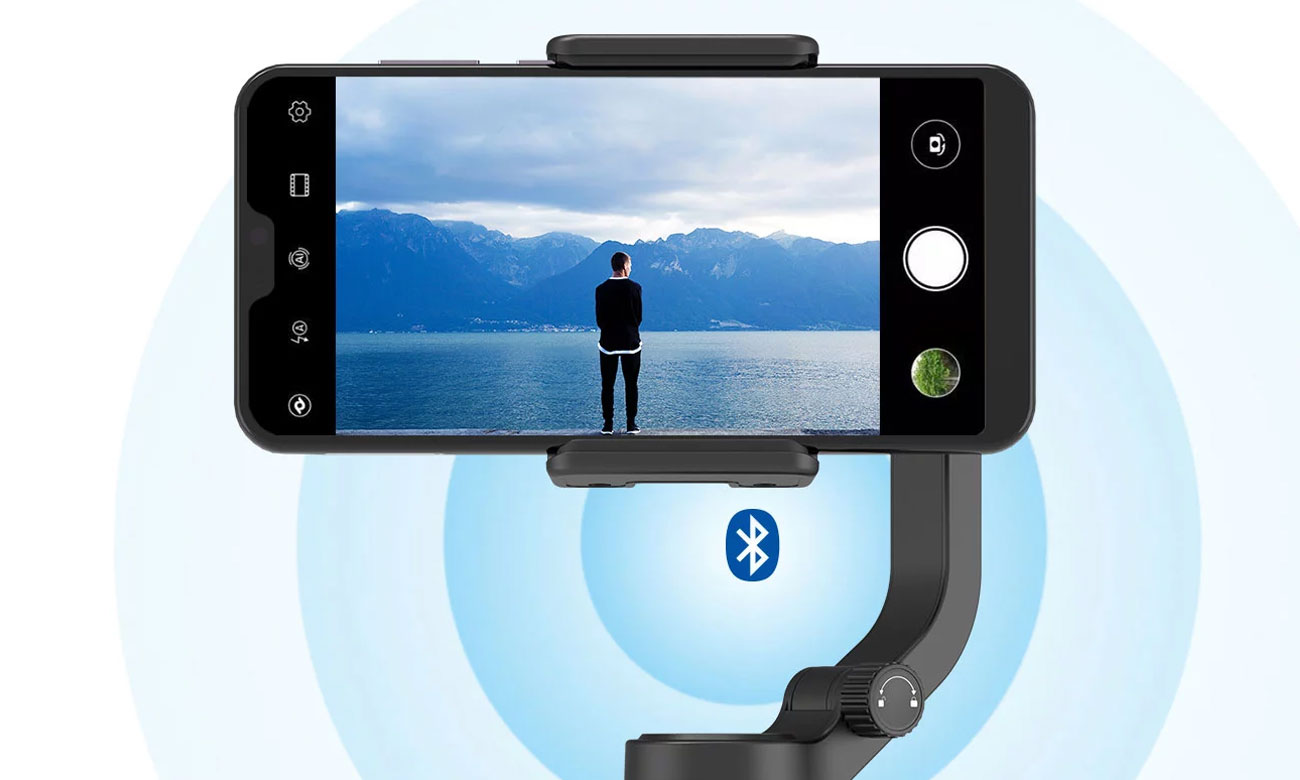 Feiyu-Tech VLOG pocket - Łączność Bluetooth