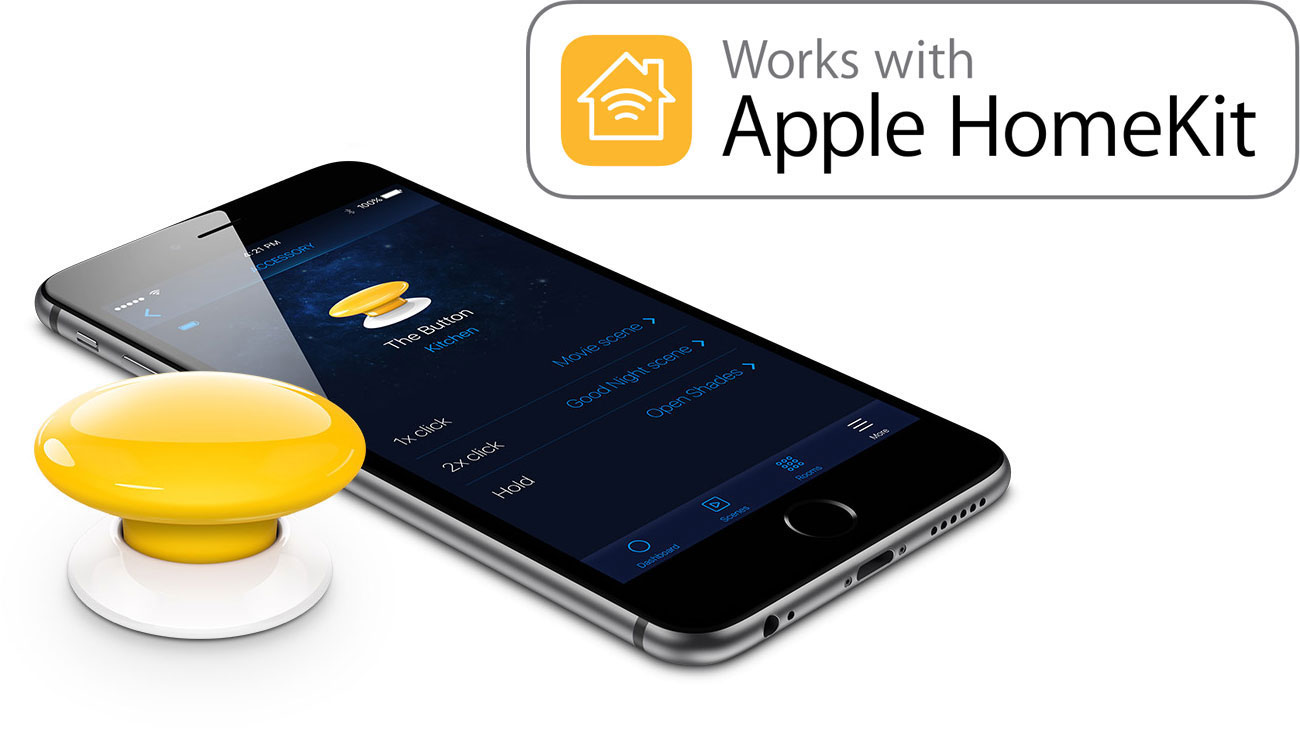 Fibaro The Button Apple HomeKit