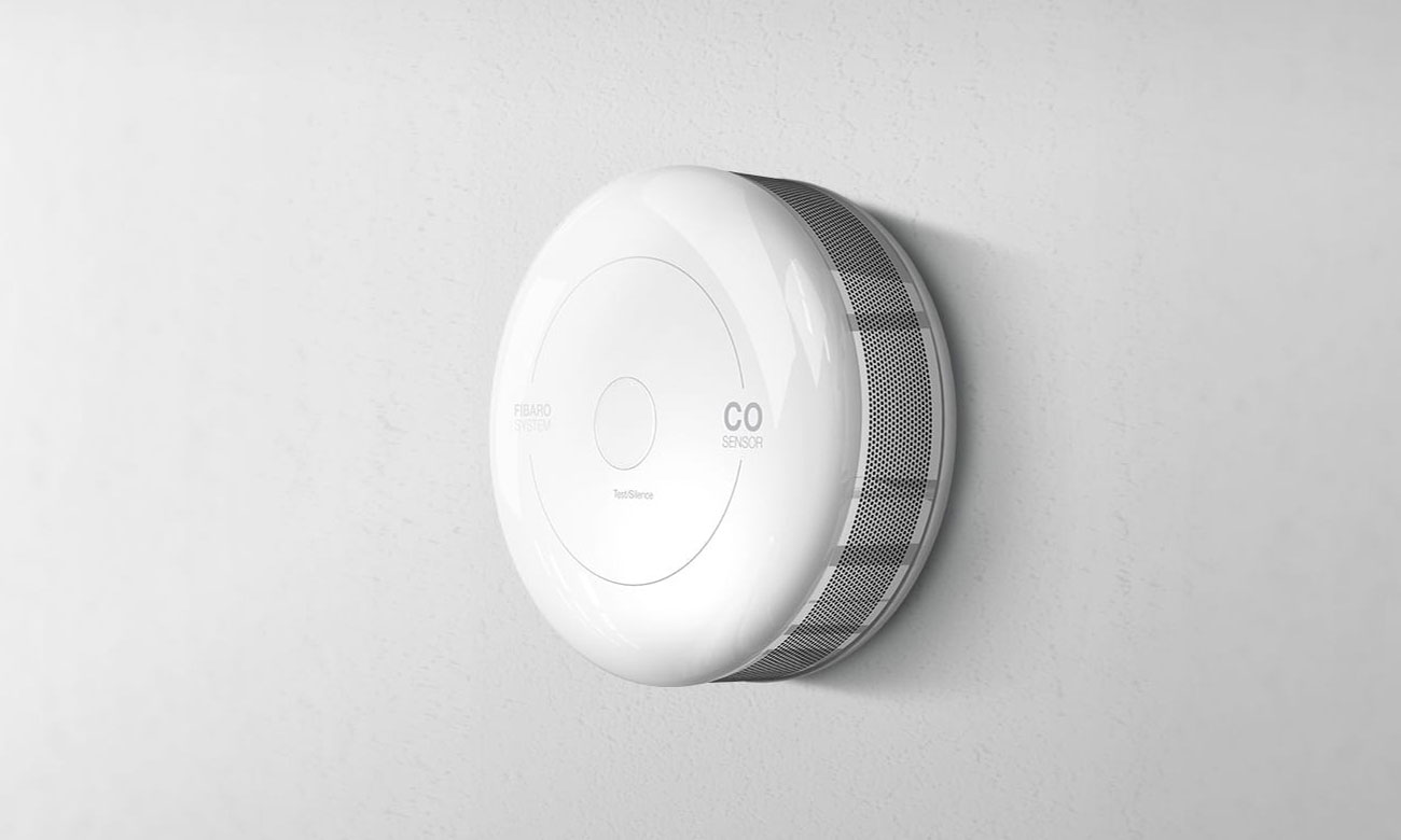 Fibaro CO Sensor Czujnik tlenku węgla / czadu (HomeKit) FGBHCD-001