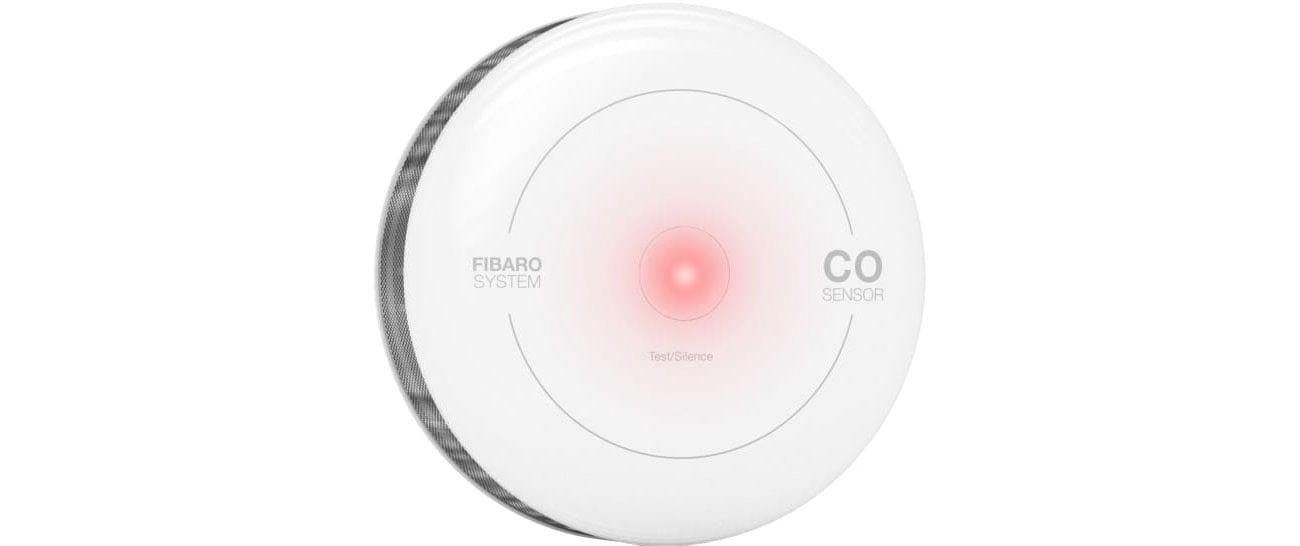 Fibaro CO Sensor Alarmy świetle i dźwiękowe