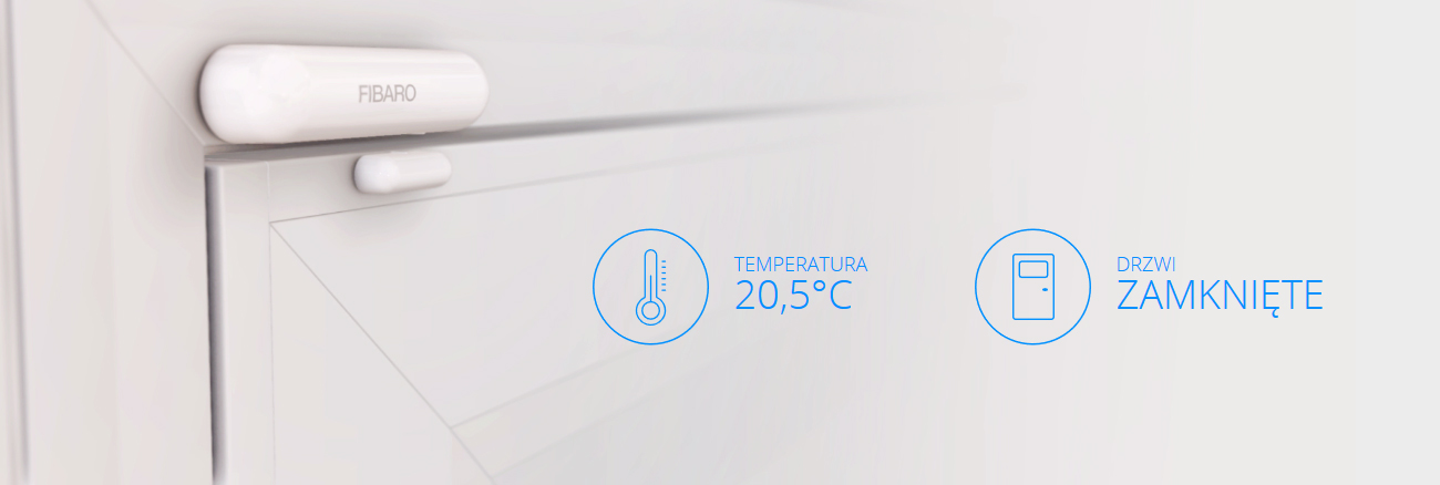 Fibaro Door / Window Sensor Wiele zastosowań