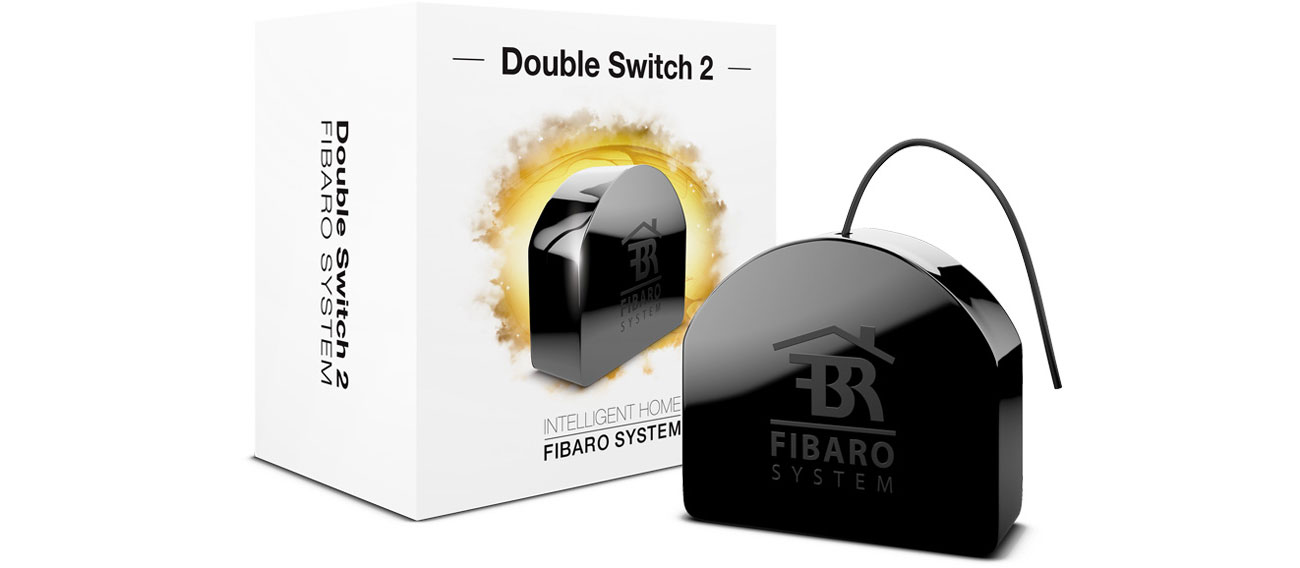 Inteligentny sterownik Fibaro Double Switch 2 FGS-223 ZW5