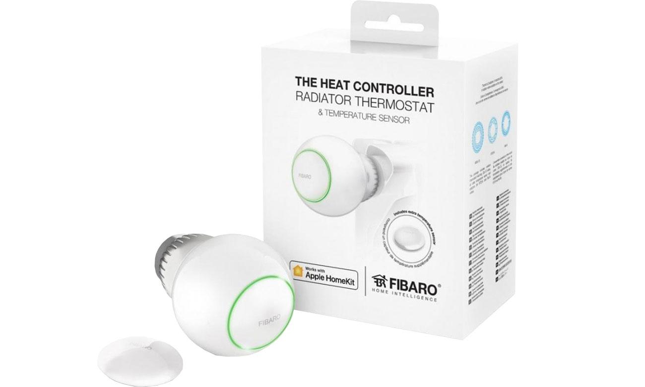 Fibaro Heat Controller Termostat grzejnikowy (HomeKit) FGBHT-001