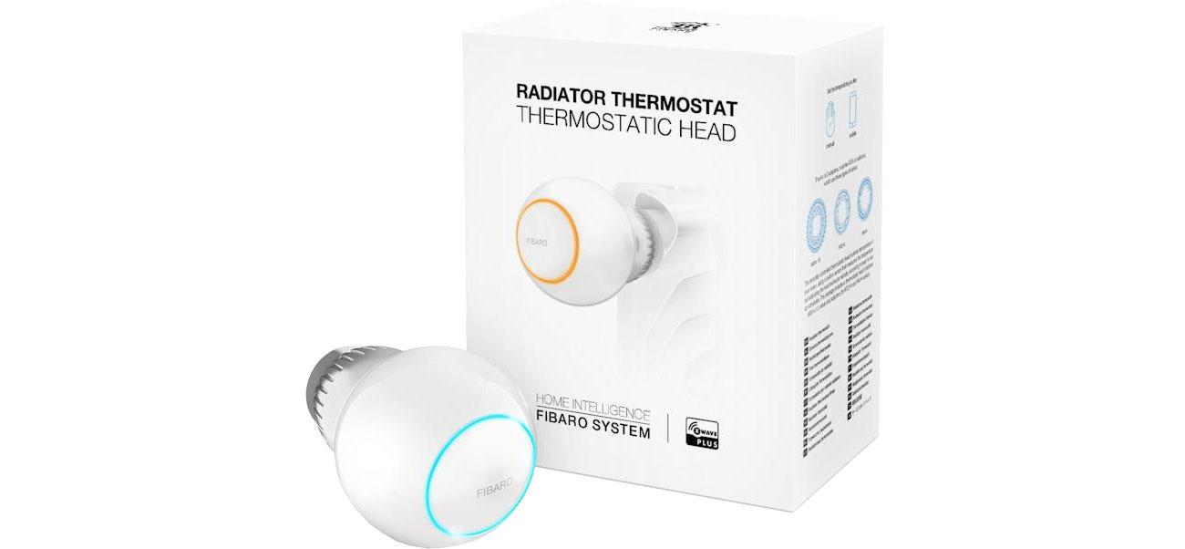 Fibaro Heat Controller Głowica termostatyczna FGT-001 ZW5