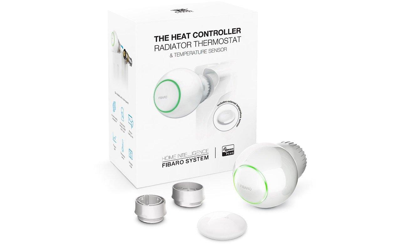 Fibaro Heat Controller Głowica termostatyczna + czujnik 6028 StarterPack