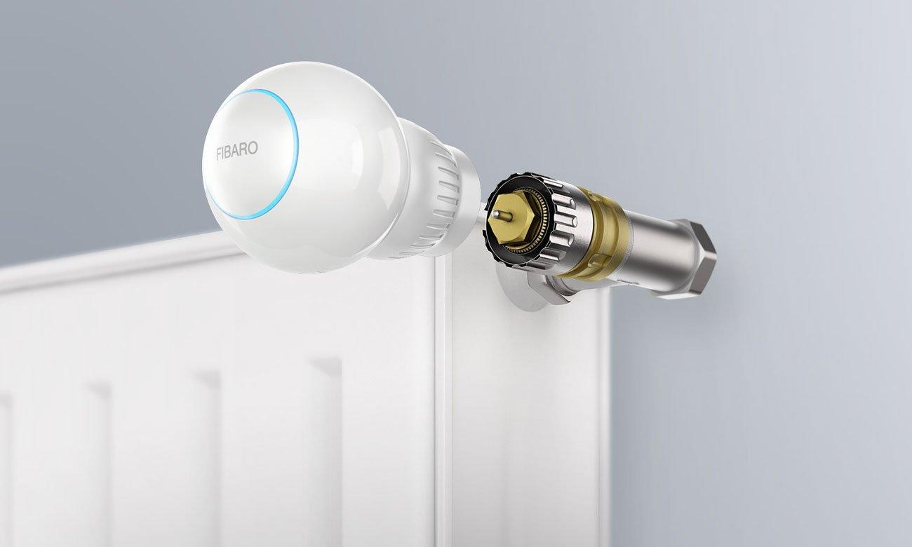 Fibaro Heat Controller Łatwy montaż