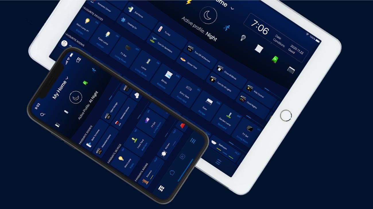 Zarządzaj domem z telefonu i tabletu