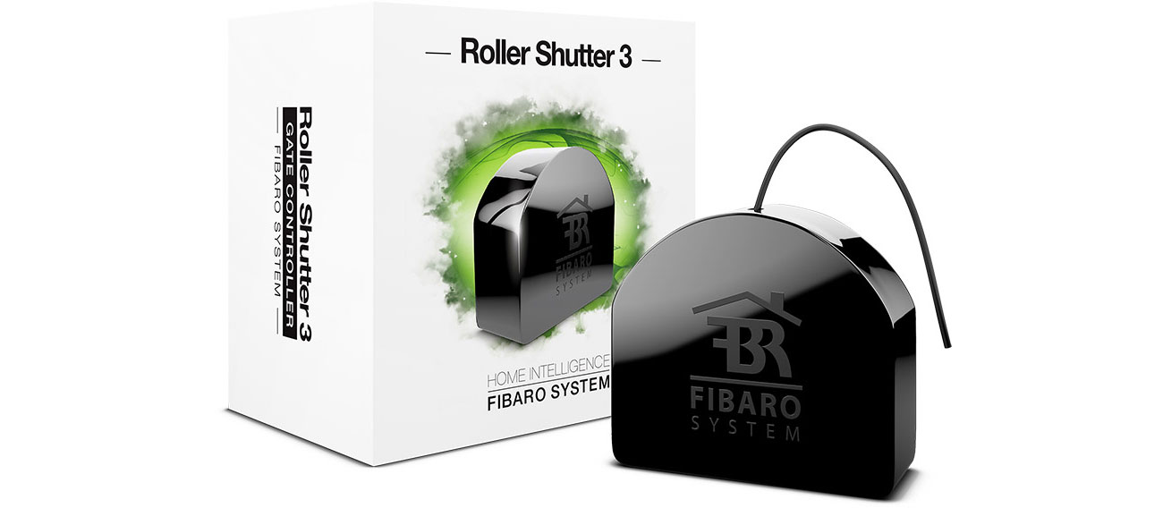 Inteligentny sterownik Fibaro Roller Shutter 3 FGR-223 ZW5