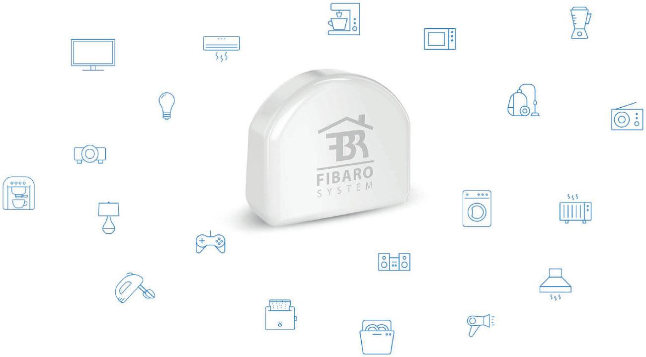 Fibaro Single Switch Kontroluj urządzenia