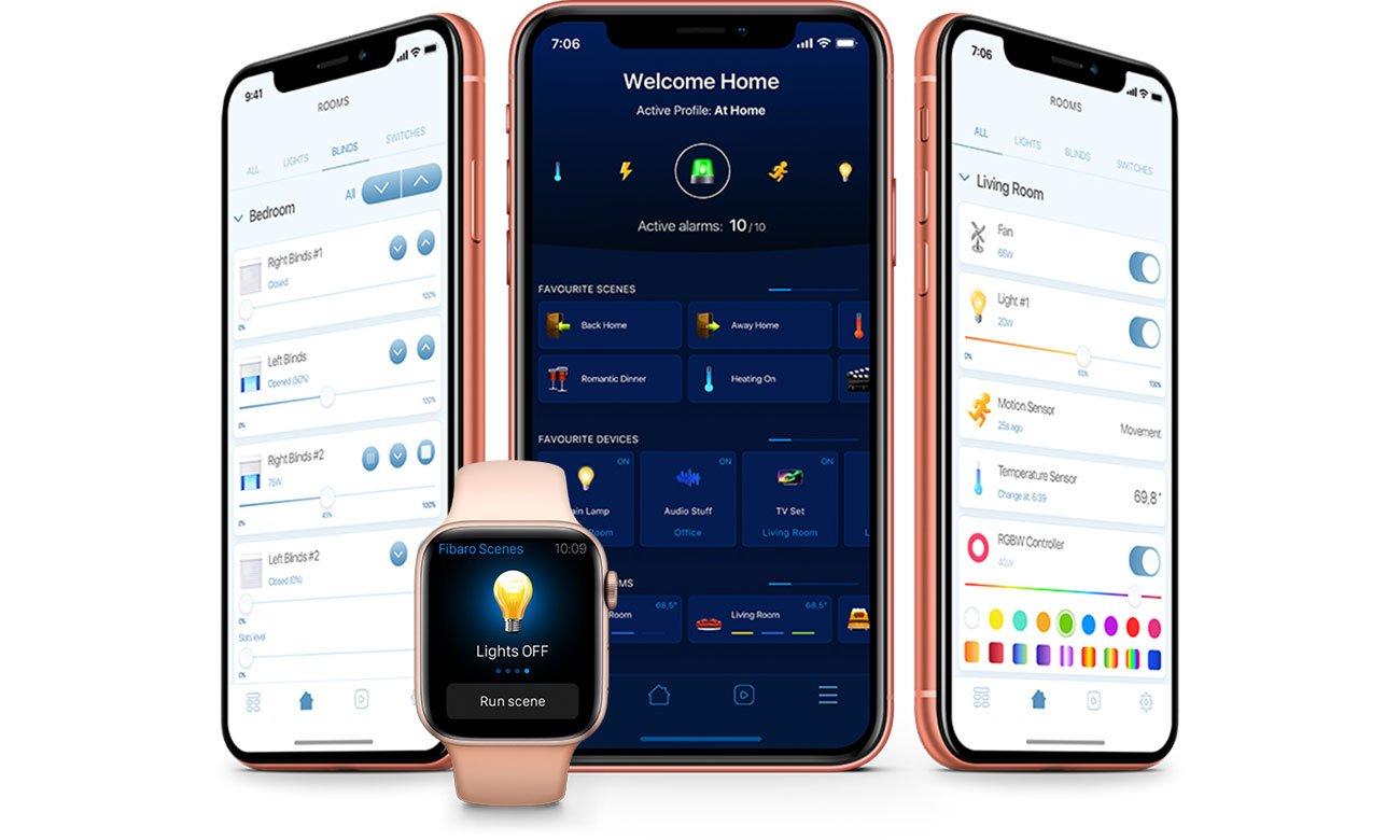 FIBARO Walli Switch - Aplikacja