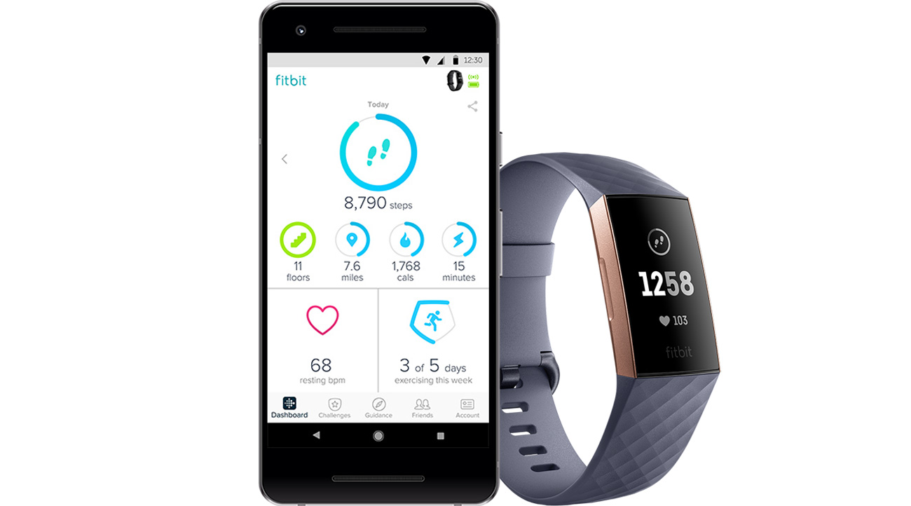 Fitbit Charge 3 Aplikacja Fitbit Health and Fitness
