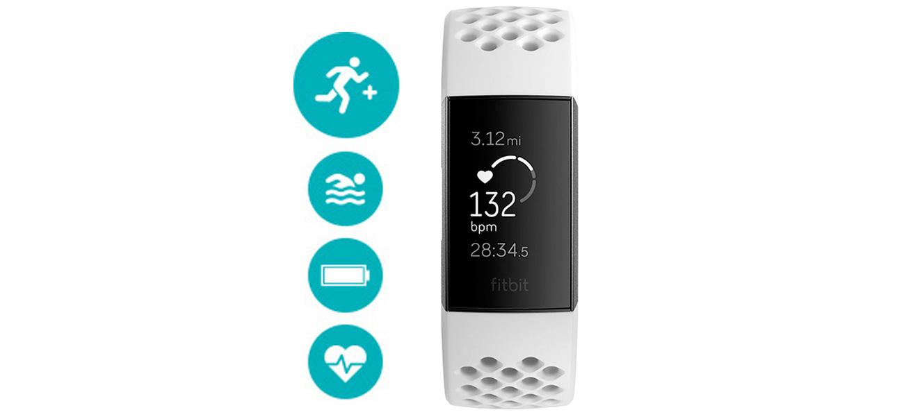 Fitbit Charge 3 grafitowa