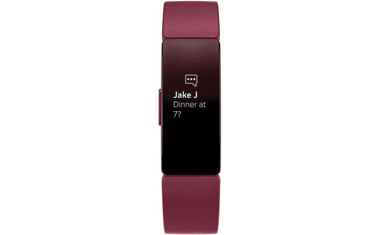 Opaska sportowa Fitbit Inspire bordowa