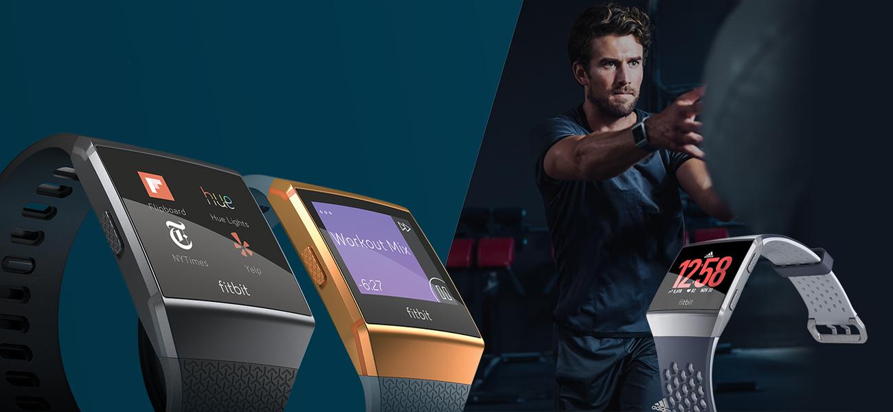 Fitbit Ionic HR Elegancki zegarek dla aktywnych osób