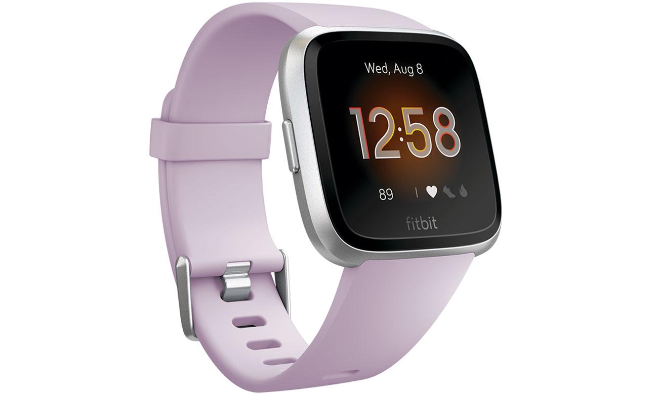 Zegarek sportowy Fitbit Versa Lite Edition lawendowy