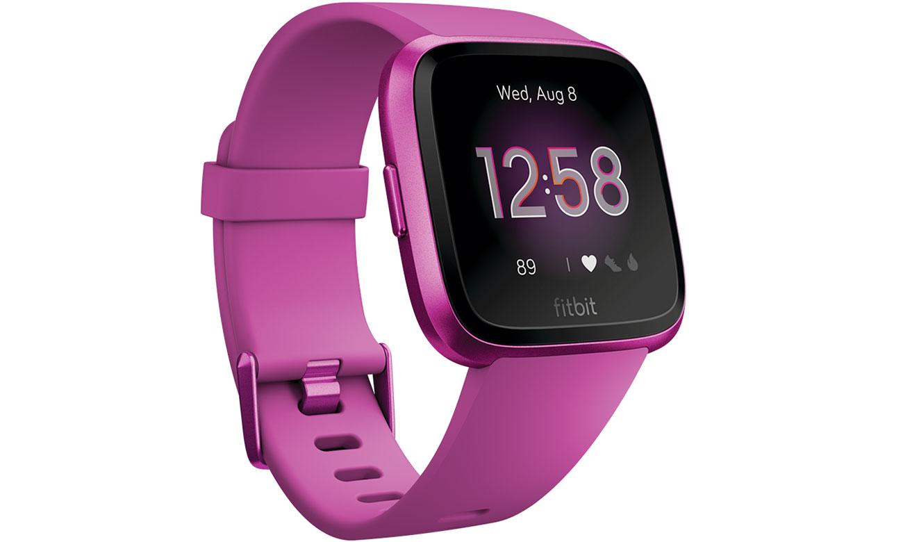 Zegarek sportowy Fitbit Versa Lite Edition purpurowy