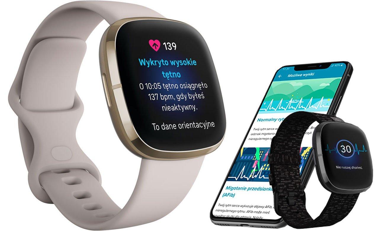 EKG, monitorowanie stresu i temperatury oraz czujnik EDA