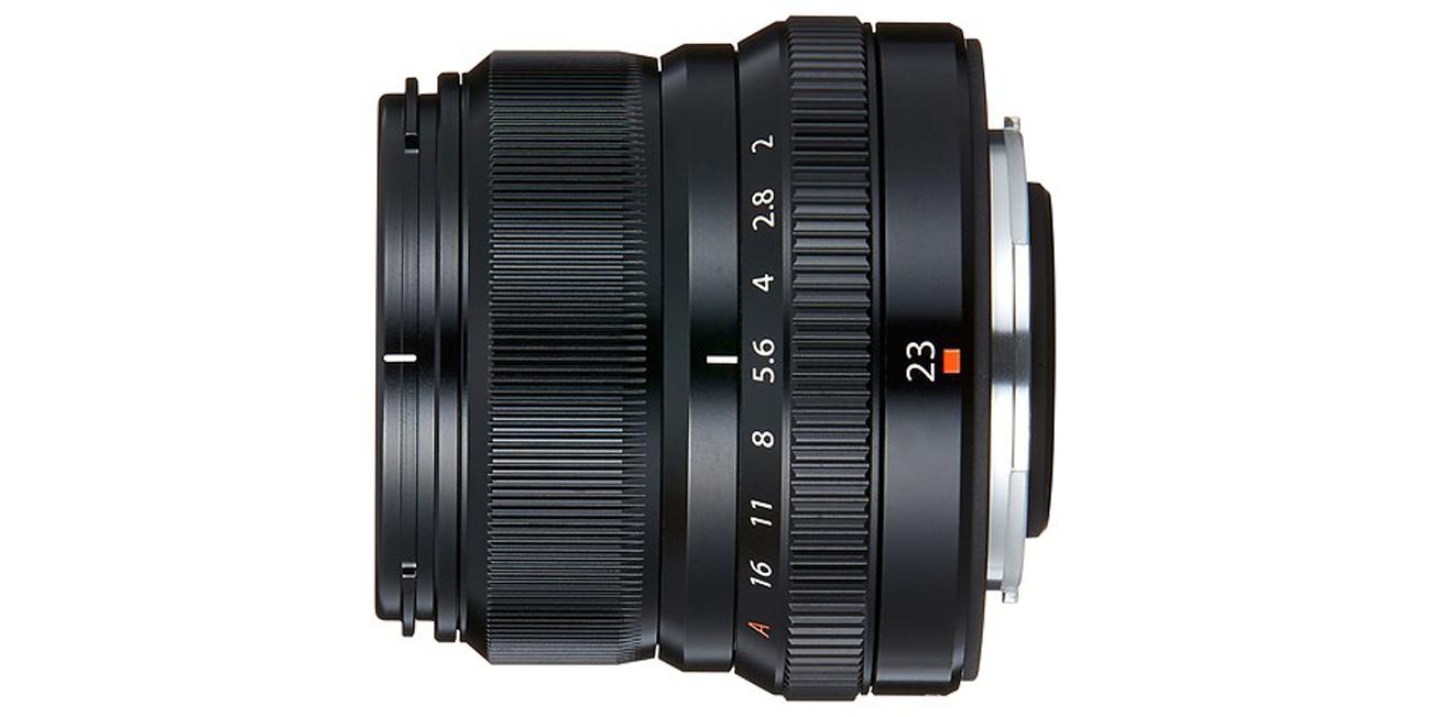 Fujifilm Fujinon XF 23mm f/2.0 Widok Z Boku