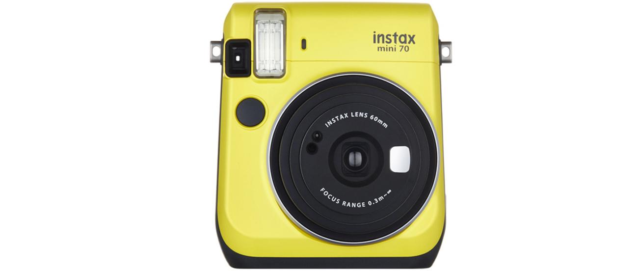 Fujifilm Instax Mini 70 żółty