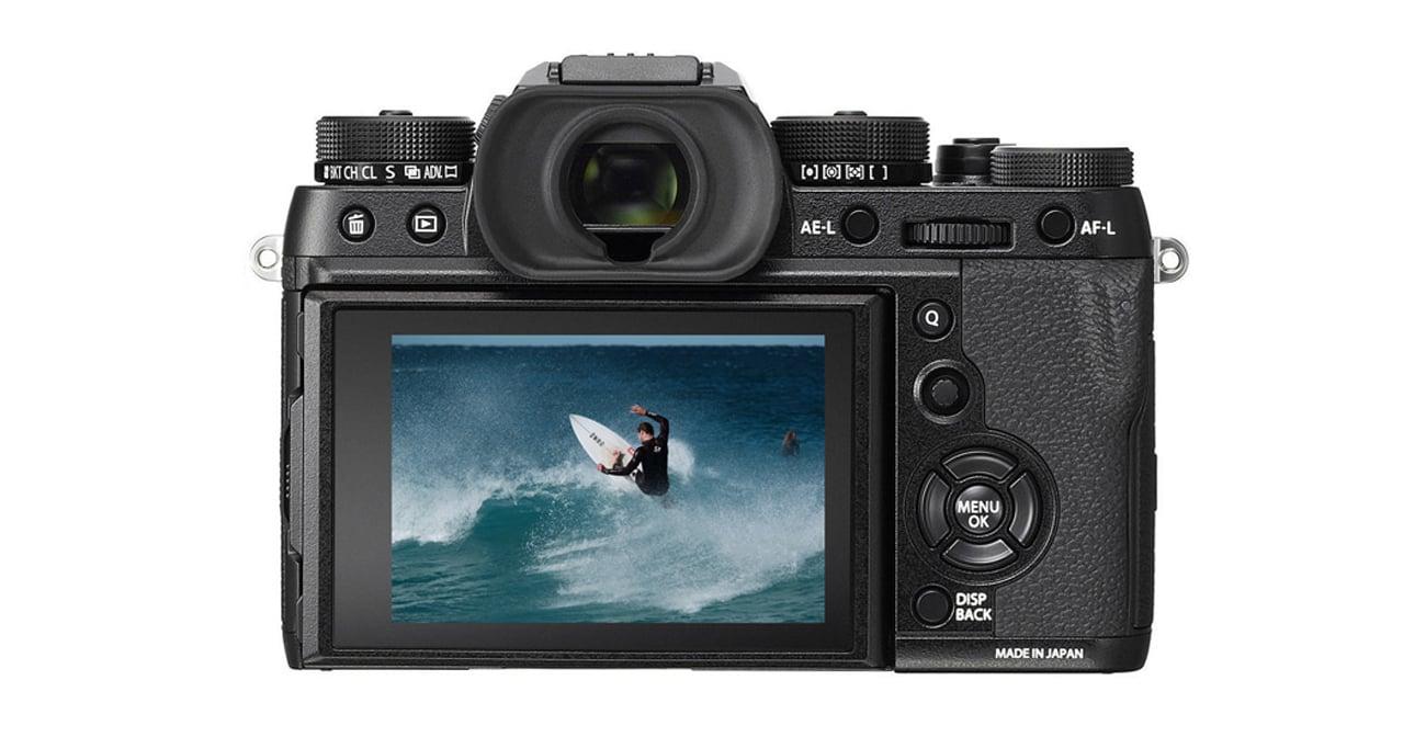 Bezlusterkowiec Fujifilm X-T2 body tył