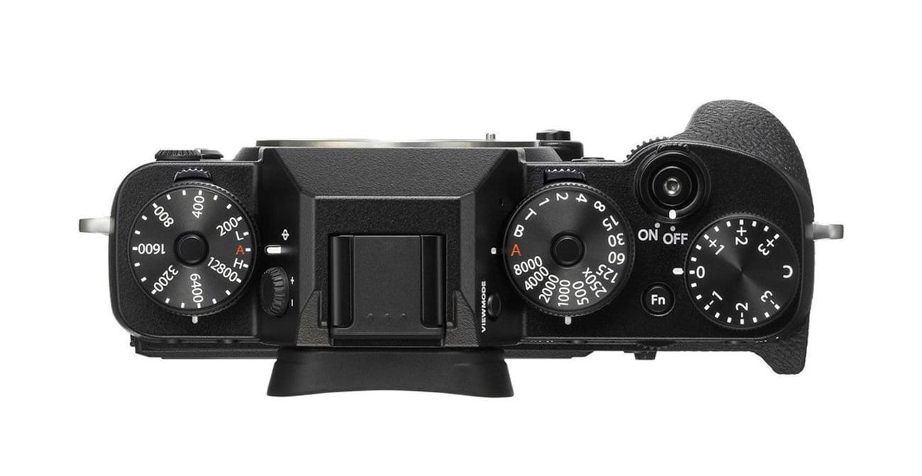 Bezlusterkowiec Fujifilm X-T2 body pokrętła