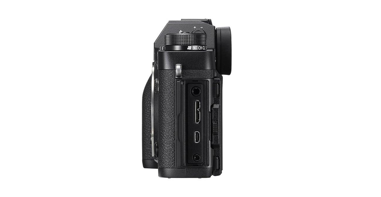 Bezlusterkowiec Fujifilm X-T2 body złącza