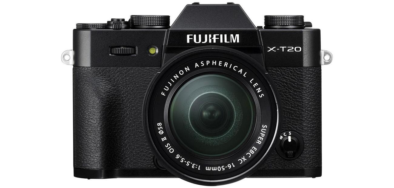 Fujifilm X-T20 Widok Z Przodu