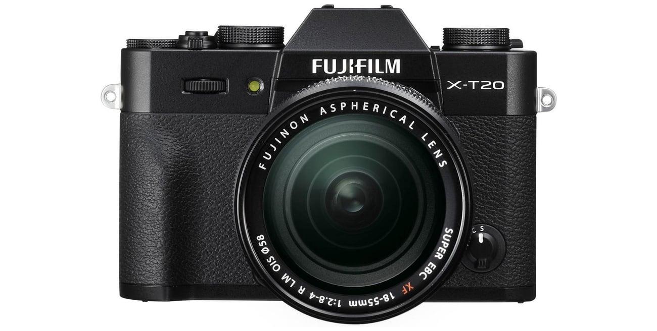 Fujifilm X-T20 Body Wyświetlacz Widok Z Przodu