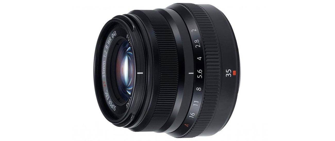 Fujifilm XF 35mm kompaktowy i dyskretny wysoka jakość zdjęć